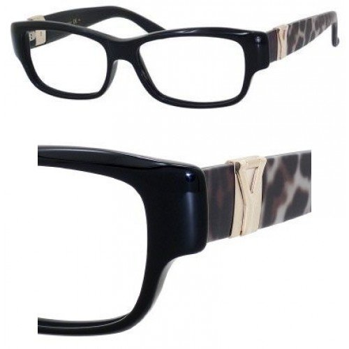 Yves Saint Laurent Yves Saint Laurent 6383 Eyeglasses-0YXZ Black Panther-52mm