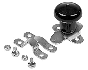 WSV124B Universal Black Tractor Steering Wheel Spinner Knob
