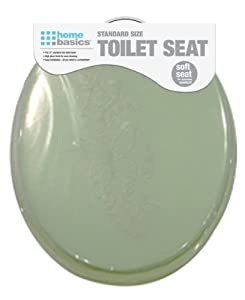 Home Basics Toilet Seat Light Green Toilet Seat
