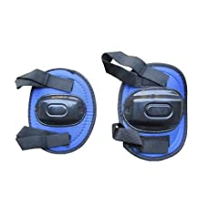 JUNIOR BLUE KIDS SAFETY ELBOW & KNEE PADS PROTECTIVE GUARDS MEDIUM