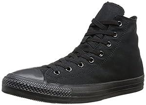 Converse Chuck Taylor All Star - Zapatillas de tela, unisex, color negro mono (noir mono)), talla 42