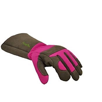 G & F 2430M Florist Pro Long Sleeve Rose gardening Gloves, Thorn Resistant Garden Gloves, Rose Pruning Gloves - Womens Medium