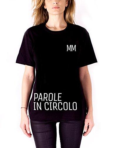 Marco Mengoni - T-Shirt Parole In Circolo Limited Edition Maglietta da donna, nero, S
