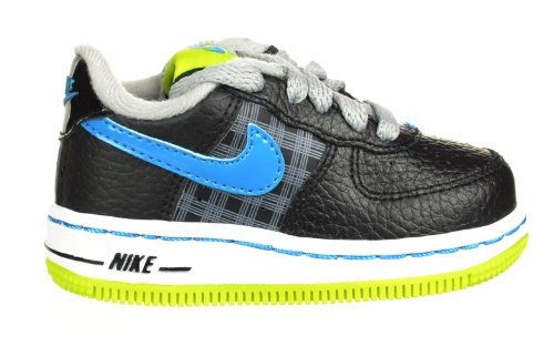 Nike Air Force 1 Lowl (TD) Baby Toddler Shoes Black/Green/Blue/Silver/White Black/Green/Blue/Silver/White 314194-075-10