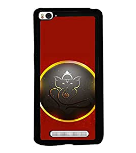 printtech Lord God Ganesha Back Case Cover for Xiaomi Redmi Mi4i , Xiaomi Mi 4i