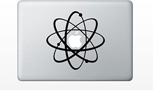 Macbook Atomic Symbol Decal Sticker Pro Air 11 13 15 17 front-919952