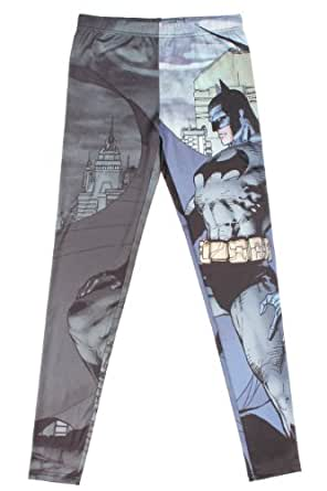 DC Comics Batman Leggings Size : X-Small