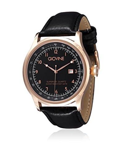 Giovine Reloj Casanova Tempo Oro Rosa / Negro