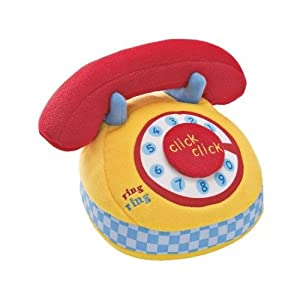 Gund Hello Telephone Baby Toy