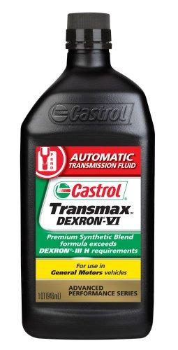 castrol-06822-transmax-dexron-vi-automatic-transmission-fluid-1-quart-pack-of-6