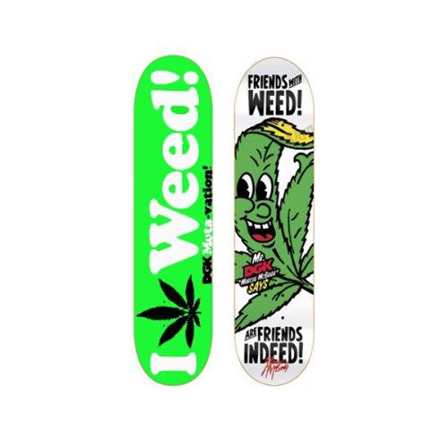 Amazon.com 2 DGK Weed 8.0 Skateboard Deck Lot