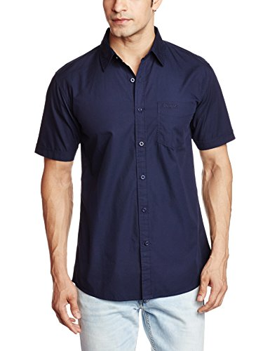 Wrangler-Mens-Casual-Shirt-8907222243517WRSH5830LargeNavy