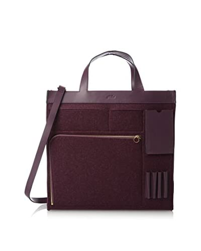 Kate Spade Saturday Women's Inside-Out Pocket Tote, Plum