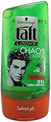 Schwarzkopf Taft Chaos Look Gel For Men With Ayur Sunscreen Lotion 50ml