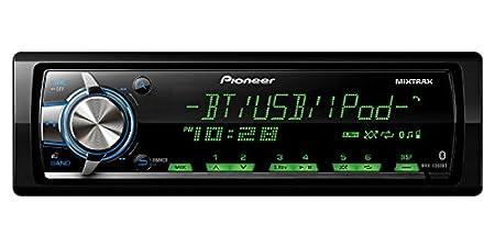 Pioneer MVHX560BT Pioneer Mechless Receiver USB Bluetooth Aux Input Remote