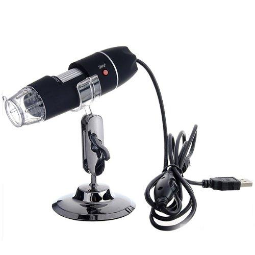 Afirst Portable 2Mp 40X-800X 8 Led Usb Digital Microscope Camera Magnifier