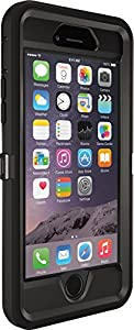 OtterBox iPhone 6 Case - Defender Series, Retail Packaging - Black (Black/Black)