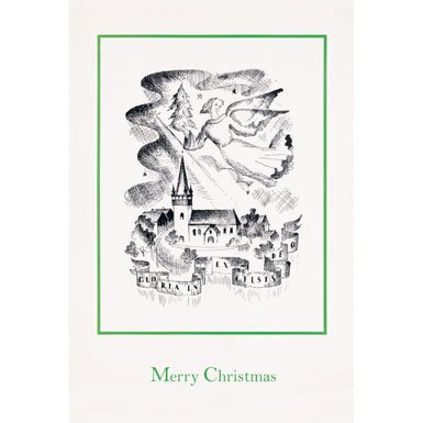 Gloria Pack of 10 Christmas Cards (Rectangle)||RF10F