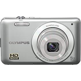 Olympus 228190 VG-120 Digital Camera (Silver)