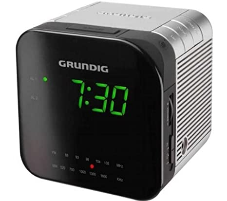 Radio R�veil GRUNDIG SC590 NOIR