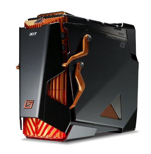 Acer Predator AG7750-U3222 Extreme Gaming Desktop (Orange/Black)