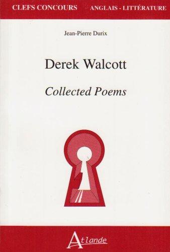 derek walcott essays