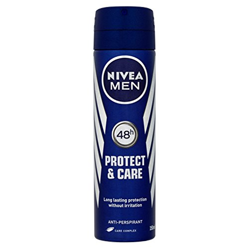 150 Ml : Nivea Men Protect And Care Anti-Perspirant Deodorant Spray 150 Ml - Pack Of 6