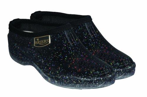 Briers Stardust Glitter Stivali Zoccoli, taglia 8(42)