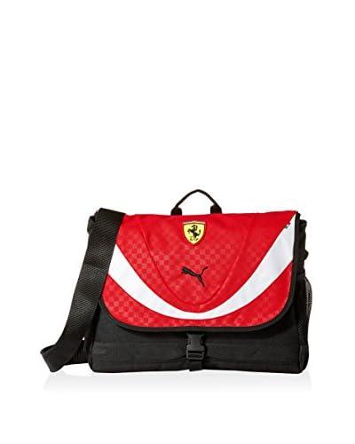 PUMA Men's Ferrari Replica Shoulder Bag, Red
