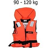 Lalizas 100N Feststoff-Rettungsweste Schwimmweste ISO 12402-4 zertifiziert