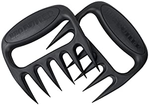 Pulled Pork Shredder Meat Claws - Forks for Shredding, Handling, Carving & Serving Food - Best BBQ Accessories - Made in USA