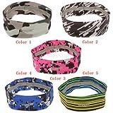 Banggood Quick Drying Sweatband For Cycling Running Fitness Headband Hair Band Headscarf