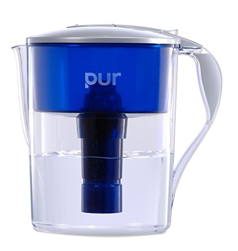 PUR Classic 11-Cup Water Filter Pitcher with LED and 4 BONUS Seasonal Decals (Pur Water Pitcher 11 Cup compare prices)
