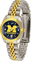 Michigan Wolverines Ladies Executive AnoChrome Watch