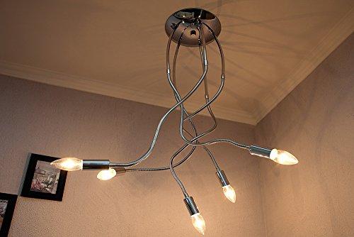 Extravagante Design Deckenleuchte MEDUSA 5-armig Lampe