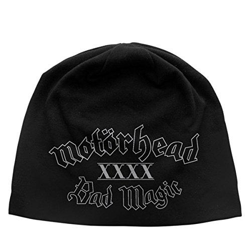 Motorhead Bad Magic Beanie Hat/Berretto, nero, Taglia unica