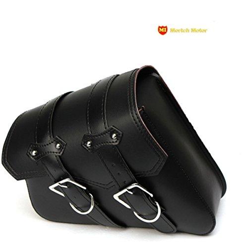 MORTCH nuovo 1Pezzo Moto Bisacce, sotto sedile laterale Borsa per Harley Davidson