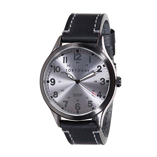 tokyobay-orologio-mason-colore-grigio-nero