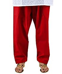 Neha Fashion Women's Regular Patiala Salwar Pant ( Maroon )