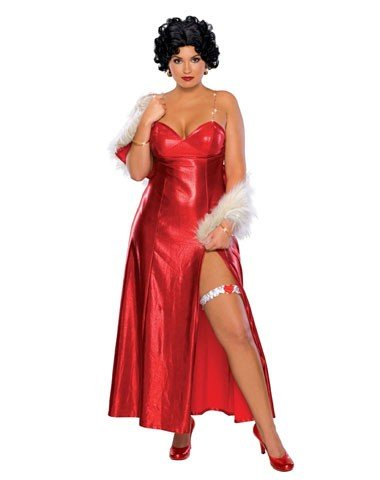 Rubies Costume Co Women's Betty Boop Plus Size Costume