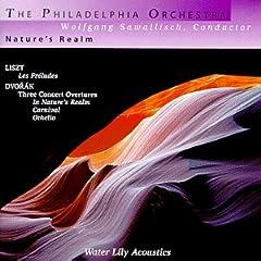 Liszt - Les Préludes · Dvorak - Three Concert Overtures / The Philadelphia Orchestra · Sawallisch - Water Lily Acoustics WLA-WS-66-DVD