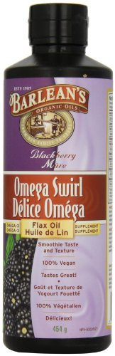 Barlean's Flax Oil Swirl, Blackberry, 16-Ounce (Fresh Omega compare prices)