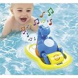 Tomy 2161 AquaFun Hippo Pedalo Baby Bath Toy