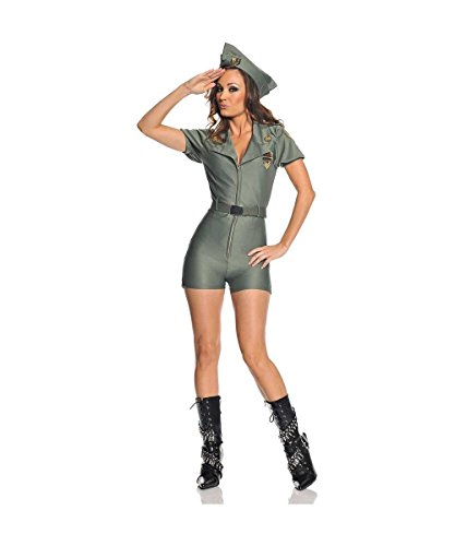 Attention Military Adult Costume