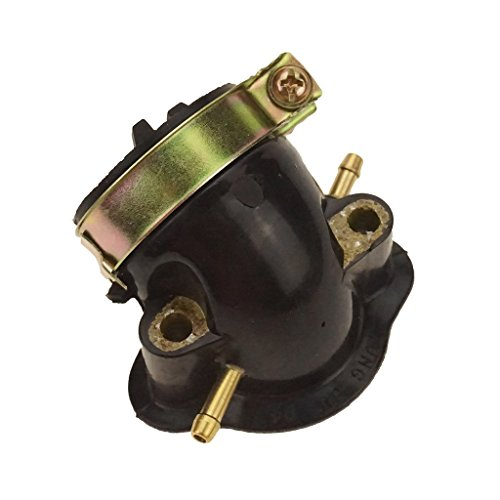 Glixal ATMT1-080-1 157QMJ 152QMI Carburetor Intake Manifold Pipe for GY6 125cc 150cc Engine Scooter Moped ATV Go Kart (Dual Vaccuum Port) (22mm Intake compare prices)