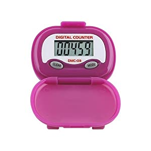 Buy DMC-03 Multi-Function Pedometer (color: PURPLE) by Heart Rate Monitors