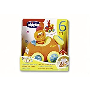 Chicco - SHAKE & ROLL RABBIT CAR