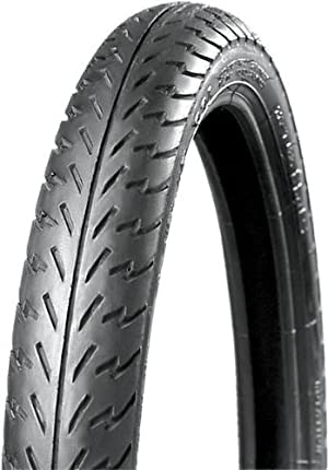 IRC NR53 Universal Moped Tire – 2.75-18 , Position: Front/Rear, Tire Size: 2.75-18, Rim Size: 18, Load Rating: 42, Speed Rating: P, Tire Type: Scooter/Moped T10144