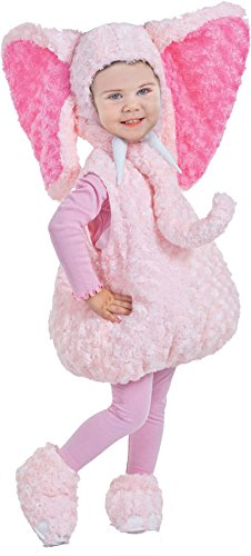 baby-girls - Pink Elephant Toddler Costume 2T-4T Halloween Costume