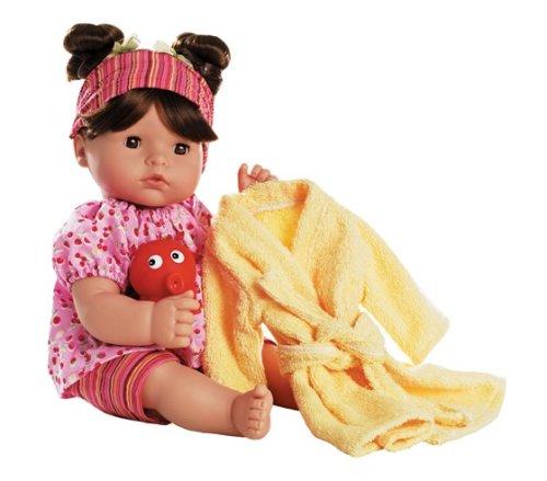 Gotz Maxi Aquini, 16-Inch 'BRUNETTE BATH BABY - Buy Gotz Maxi Aquini, 16-Inch 'BRUNETTE BATH BABY - Purchase Gotz Maxi Aquini, 16-Inch 'BRUNETTE BATH BABY (Gotz, Toys & Games,Categories,Dolls,Baby Dolls)